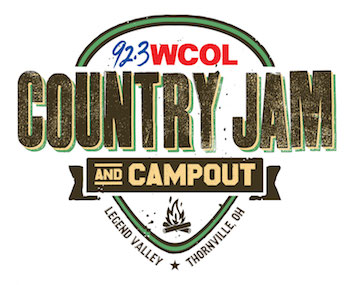 92.3 WCOL Country Jam + Campout • Legend Valley • Thornville, Ohio
