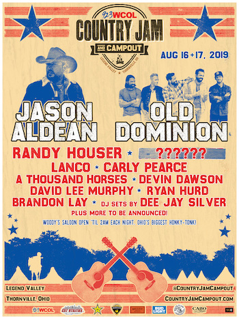 92 3 WCOL Country Jam + Campout returns to Legend Valley