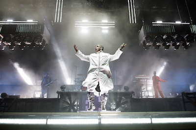 Rammstein performs at Chicago Open Air
