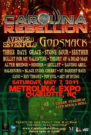 Carolina Rebellion flyer
