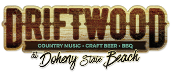 Driftwood at Doheny State Beach: Country Music * Craft Beer * BBQ