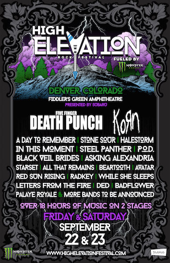 High Elevation Rock Festival fueled by Monster Energy