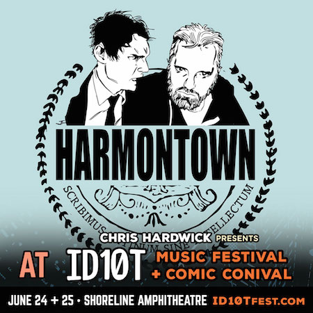 Harmontown panel at ID10T