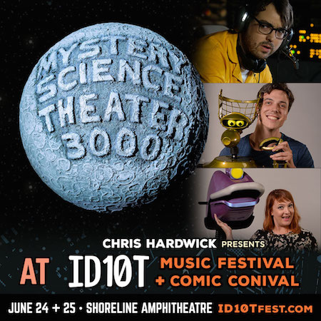 Mystery Science Theater 3000 panel at ID10T
