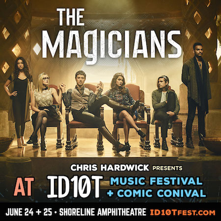 The Magicians panel at ID10T