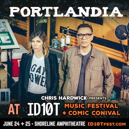 Portlandia panel at ID10T