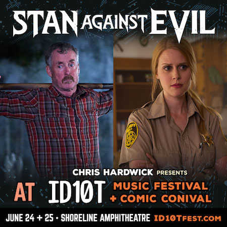 Stan Against Evil panel at ID10T
