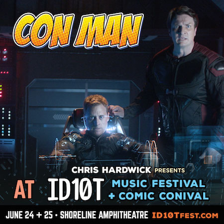 Con Man panel at ID10T