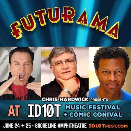 Futurama panel at ID10T