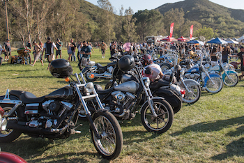 Motorcycles at Lost Highway 2015
