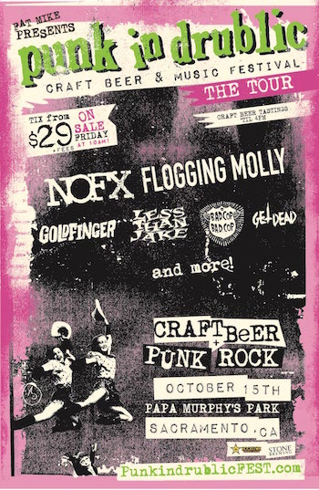 Music lineup announced for fat mike presents punk in for Craft fairs sacramento 2017