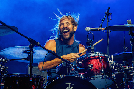 Taylor Hawkins of Chevy Metal at Monster Energy Rock Allegiance 2016. Photo by Jesse Faatz