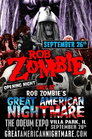 Rob Zombie Halloween Event