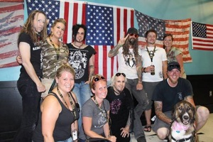 Rob Zombie and band with The Puppy Rescue Mission