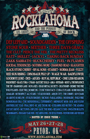 Rocklahoma 2017: Life, Liberty & The Pursuit Of Rock