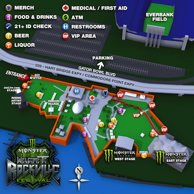 Welcome To Rockville site map
