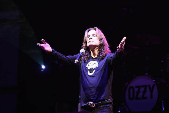 Ozzy Osbourne at Monster Energy Welcome To Rockville
