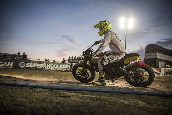 Moto Beach Classic racer at Surf City Blitz