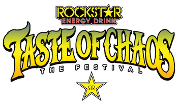 Rockstar Energy Drink Taste Of Chaos: The Festival