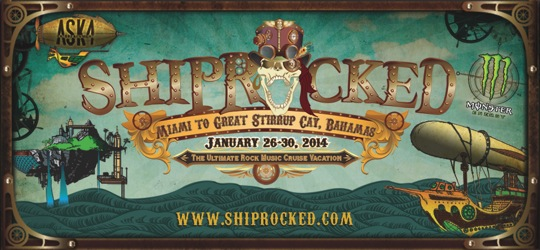 ShipRocked: Miami to Great Stirrup Cay, Bahamas, January 26-30, 2014