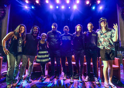 Group shot of the ShipRocked Artist Q&A participants