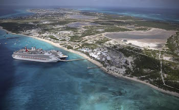 Carnival Victory docked at Grand Turk